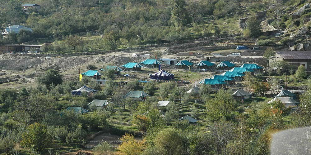 Camping in Baspa Valley
